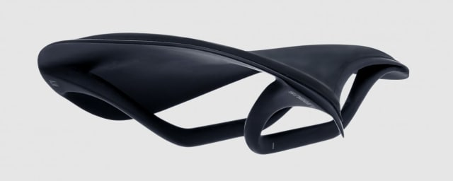 Fabric's ALM Ultimate Shallow saddle, which was codesigned by Airbus. (Image courtesy of Fabric.)