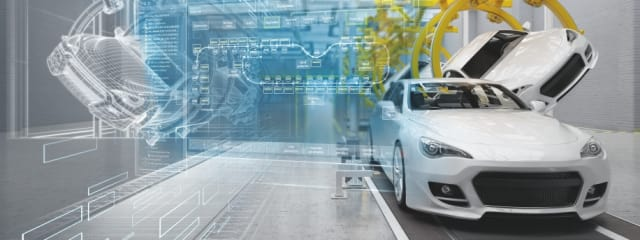 Linking the Digital Twin to the IoT will bring in the data needed to truly understand how a product, like a manufacturing assembly line, works in the field. (Image courtesy of Siemens.)