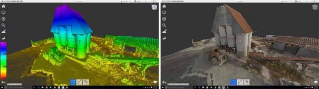 A site reconstruction made using 3DR's technology and Autodesk ReCap. (Image courtesy of 3D Robotics.)