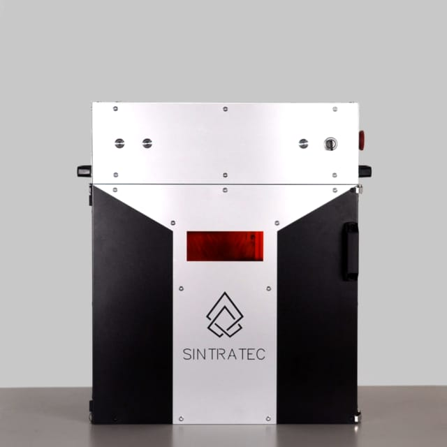 The Sintratec platform uses a 2,300mW blue laser. (Image courtesy of Sintratec.)