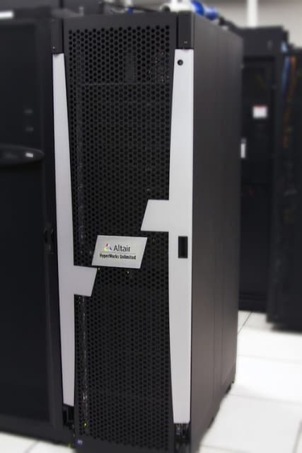 Altair offers local cloud servers for HPC. (Image courtesy of Altair.)