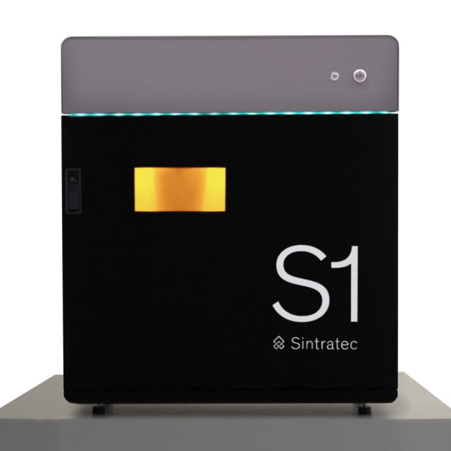 The S1 is Sintratec's fully assembled SLS 3D printer. (Image courtesy of Sintratec.)
