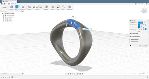 Example of free-form modeling in Fusion 360. (image courtesy of Autodesk.)