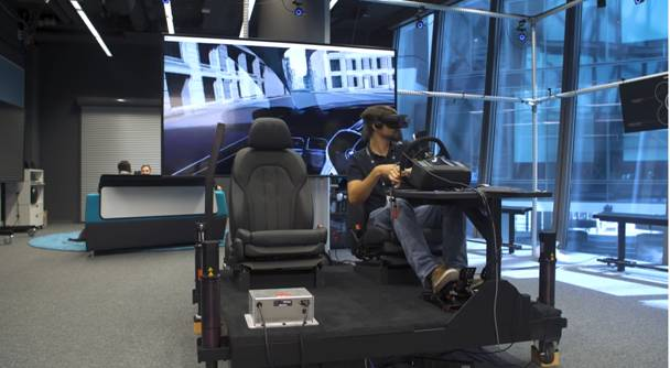 Figure 6. BMW Mixed Reality Lab. (Image courtesy of BMW.)