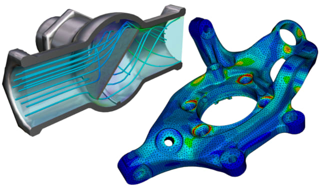 Ceetron's visualization components are helping Tech Soft 3D go deeper into the CAE market. (Image courtesy of Tech Soft 3D.)