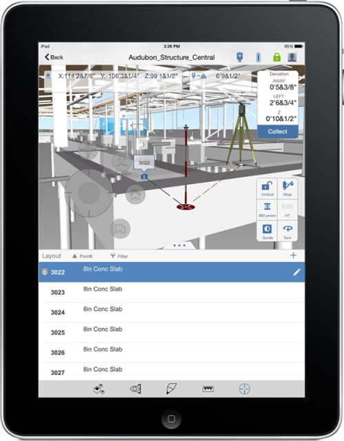When employed in combination with BIM 360 Layout, BIM 360 Glue enables users to upload models with layout points directly onto their iPads from other Autodesk offerings, such as AutoCAD, Revit and Navisworks.