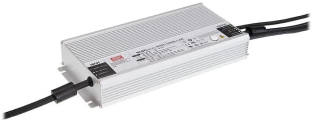 The HVGC-1000 features smart dimming and IoT integration. (Image courtesy of MEAN WELL.)