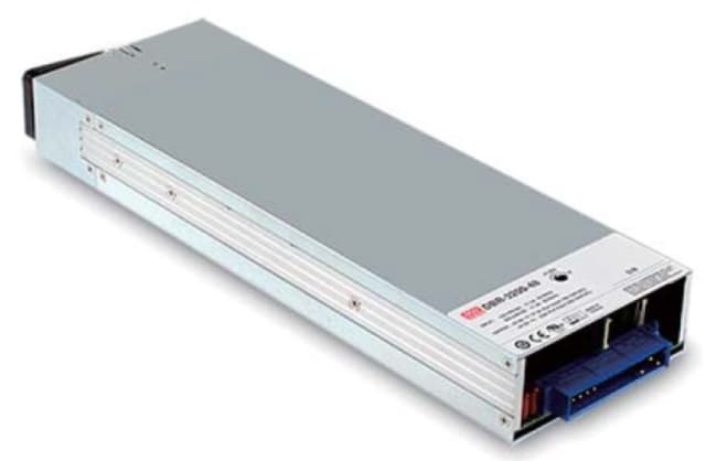 Figure 6. The MEAN WELL DBR-3200 rack-mountable front end battery charger. (Image courtesy of MEAN WELL.)