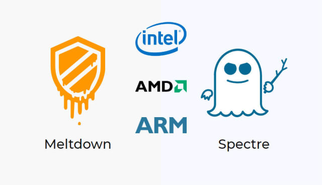 Meltdown and Spectre are two kernel side-channel attacks that are affecting an unprecedented range of computing devices and systems running AMD, ARM and Intel processors. The vulnerabilities allow attackers to steal sensitive data from the system memory by taking advantage of the way processors are designed to work.  (Image courtesy of