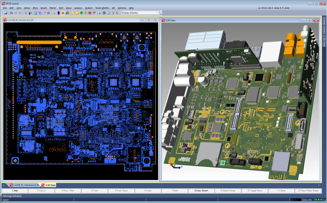 Screenshot of Mentor Xpedition ECAD software. (Image courtesy of Siemens.)