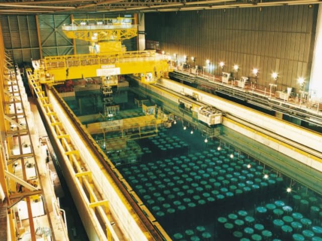 Nuclear waste storage. (Image curiosity of Sellafield Ltd.)
