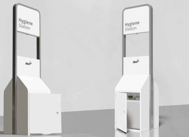 The Black Lab Design Hygiene Station XL. (Image courtesy of Black Lab Design.)