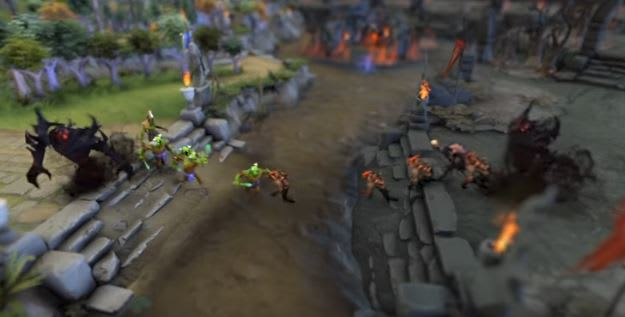 The curious world of machine learning openais dota 2 bot screengrab from dota 2 gumiabroncs Choice Image