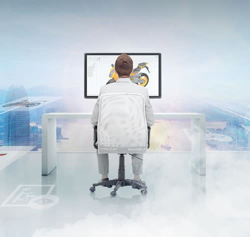 CLOUD-BASED WORK. Remote accessibility has many positive characteristics; for example, at least theoretically, working on a cloud-based PLM or Product Innovation Platform has advantages in terms of product development. PTC's solutions are examples of this.