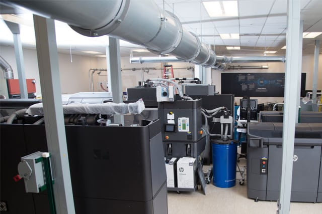 The 3,500-square-foot 3D Open Materials and Applications Lab in Corvallis. (Image courtesy of HP.)