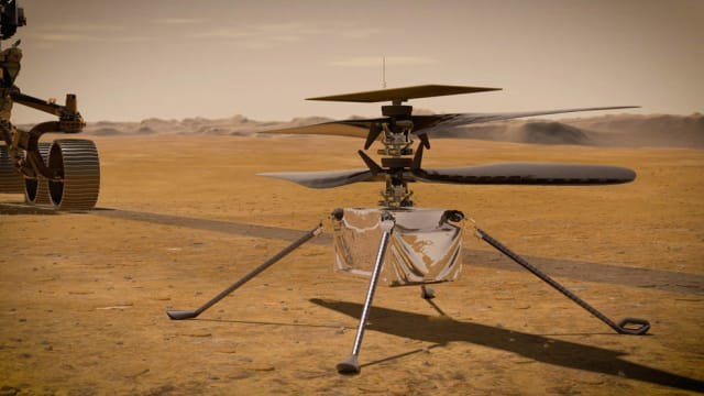 NASA's Ingenuity experimental Mars helicopter.