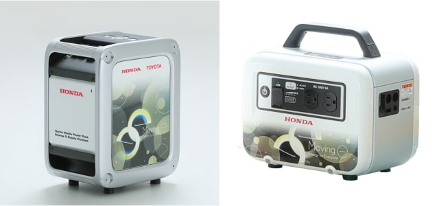 Mobile Power Pack and LiB-AID E500. (Image courtesy of Toyota.)
