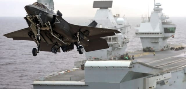 CLEARED FOR TAKE-OFF. The end of September 2018 saw the flight test premiere for the British Royal Navy's largest aircraft carrier to date, the 70,000-tonne HMS Queen Elisabeth. In the premiere, two F-35B Lightning II Joint Strike Fighters landed on the tires for the first time. The ship's technical information is handled by Eurostep's ShareAspace solution.