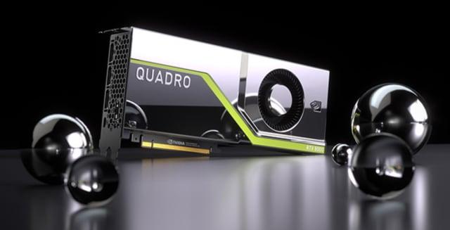 The NVIDIA Quadro RTX 8000. (Image courtesy of NVIDIA.)