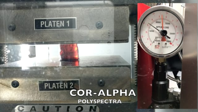 polySpectra's new COR Alpha additive material is formulated to withstand high pressure. (Image courtesy of polySpectra.)