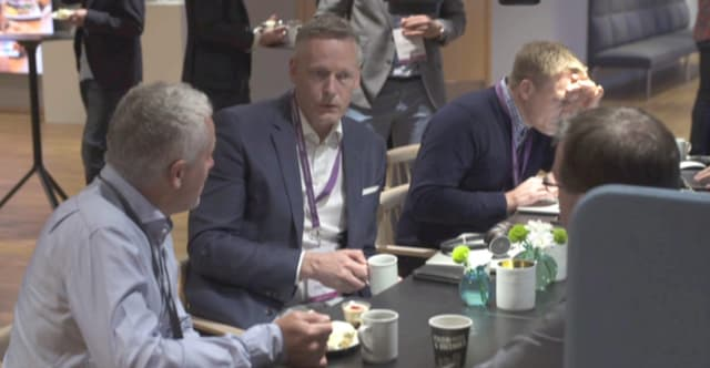 PTC partner PDSVISION's CEO, JOHAN KLINGVALL, in the position he regards as most important: discussions with customers around how their PLM bets can be improved.