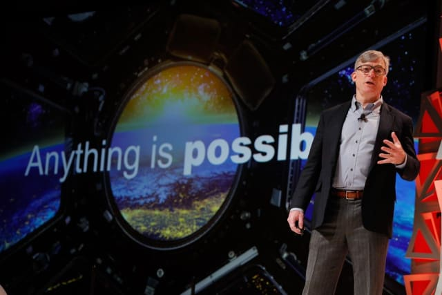 ANYTHING IS POSSIBLE, reads the motto behind Rockwell Automation manager Blake Moret. Together with PTC's Jim Heppelmann, Moret has shown evidence of high activity in connecting pieces of hardware on the shop floor—Rockwell's specialty—with PTC's solutions on the software side. The two company executives have created the incentives required to ensure the collaboration and creation of cohesive platforms, manifested in the FactoryTalk Innovation suite that came in 2018 and last month's launch of the cloud- and SaaS-based (