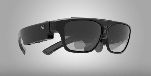 By 2016, ODG released the R-7 smart glasses, which cost USD 2750 and was marketed towards enterprise and military markets. The R-7 was basically a wearable Android device that allowed workers like field mechanics to solve problems they encountered hands-free via a teleconferencing video-feed manned at the other end by experts, like the case of AMA Xpert Eye in Boston. (Image courtesy of ODG.)