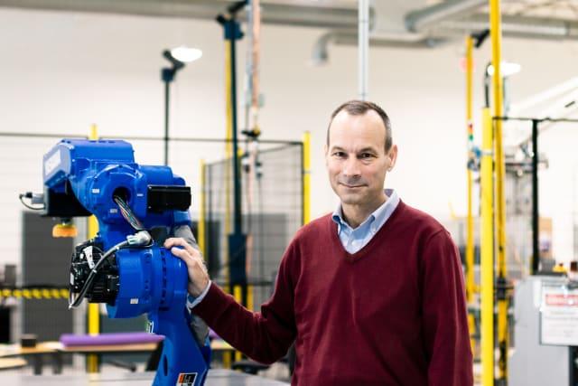 Patrick Sobalvarro, President and CEO of Veo Robotics