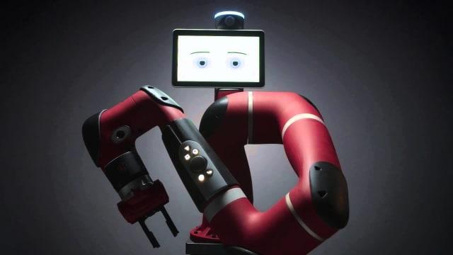 The Sawyer robot. (Image courtesy of Rethink Robotics)