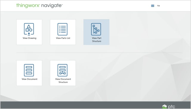 Digital Change Management is the first of the ThingWorx Navigate Contribute apps.