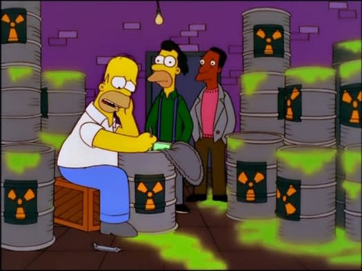 It's possible that The Simpsons has had some impact on Americans' perception of nuclear power.