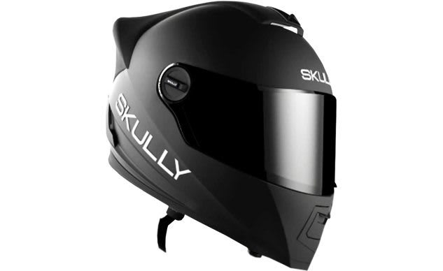 How Far Does the New Skully AR Motorcycle Helmet Rise from