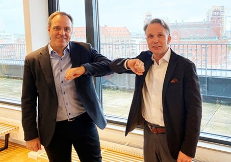 """A Good Business. The acquisition of Scanscot is a good deal for both parties, claims TECHNIA's chief, Jonas Gejer (right). This is because there is the potential for growth for both parties based on a growing acceptance of the framework represented by the Dassault Systèmes' 3DEXPERIENCE platform. Simulation is becoming more and more important, both as stand-alone solutions, and as part of a platform that can deal with simulation in broader contexts than just product development and manufacturing. """"At the same time, this area is addressing maybe 20 percent of our market. It says something about what the potential looks like. 80 percent remains, and they will most certainly also be drawn into the use of the digital simulation and analysis tools as the democratization of these 'tools' continues,"""