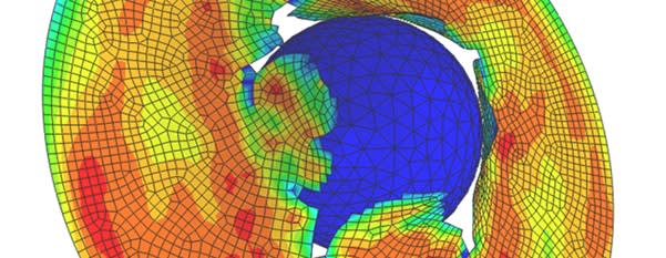 Non-linear Analysis in SIMULIA/ABAQUS 2020. Abaqus has tools for creating, editing, monitoring, diagnosing and visualizing simulations related to advanced analysis. The solution has an intuitive and easy-to-use interface, which integrates modelling, analysis, and visualization of results in a single environment. This allows users to quickly learn the software and become productive. The solution is one of the specialties in Scanscot's practice.