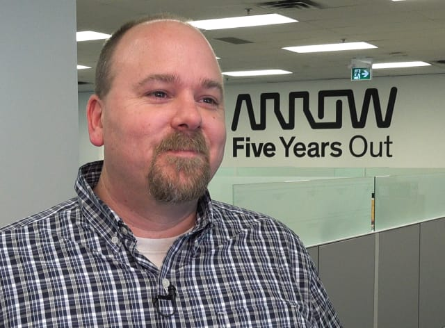 Trevor Bingham of Arrow Electronics.
