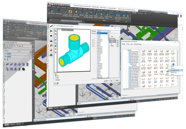 A constructible 3D model with real world metadata attached. (Image courtesy of Trimble.)