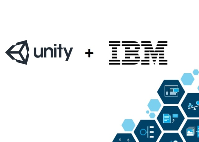 Earlier this year, Unity announced a partnership with IBM to launch a new IBM Watson Unity SDK, a programming interface that gives developers a way to add cloud-based AI to their applications. (Image courtesy of IBM.)