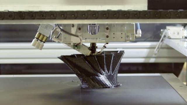 Xerox multi-nozzle technology.(Image courtesy of Fabbaloo.)
