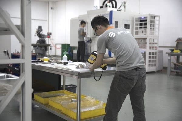 X-ray material inspection at 3ERP. (Image courtesy of 3ERP.)