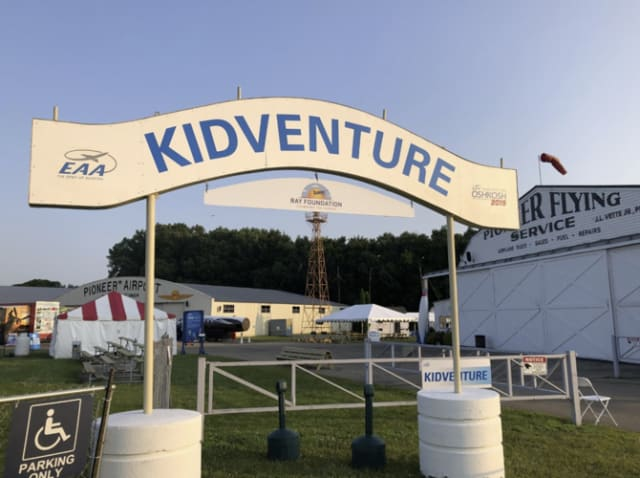 Approximately 20,000 kids and parents go through KidVenture every year. (Image courtesy of Daniel Majka.)