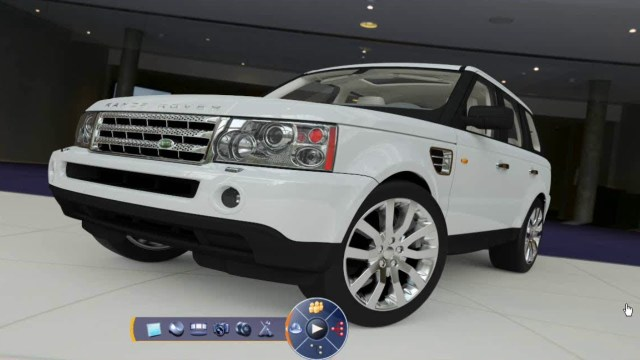 JLR's Range Rover rendered in Dassault Systèmes' CATIA V6. This CAD solution is still only partly in use.