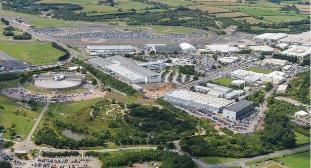 The Brtitish automaker's site in Gaydon, UK.