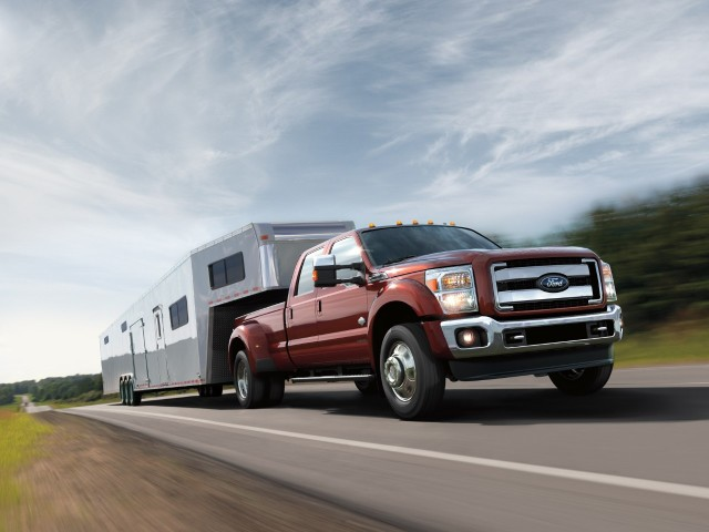 The 2016 Ford F-Series Super Duty. (Image courtesy of Ford Motor Company.)