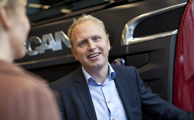 """""""The new range of products and services redefines the term 'premium' within the truck industry,"""