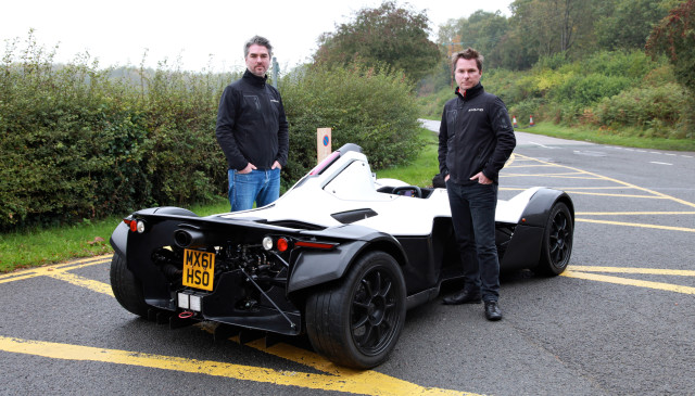 "Neill Briggs and his brother Ian are the founders of Briggs Automotive and the men behind the world's first street legal race car, BAC Mono. The company is enthusiastic about Autodesk's software PLM 360: ""It's a game changer,"" says Neill in this TV-report. (Image courtesy of Move Commercial.)"