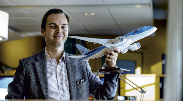 """Competitive edge: """"Customers will require much more customized products, and I know what systems our competitors are sitting on. They will not be able to deliver it the way it looks today,"""" asserts Peter Ulwahn, director at British charter giant TUI Group."""