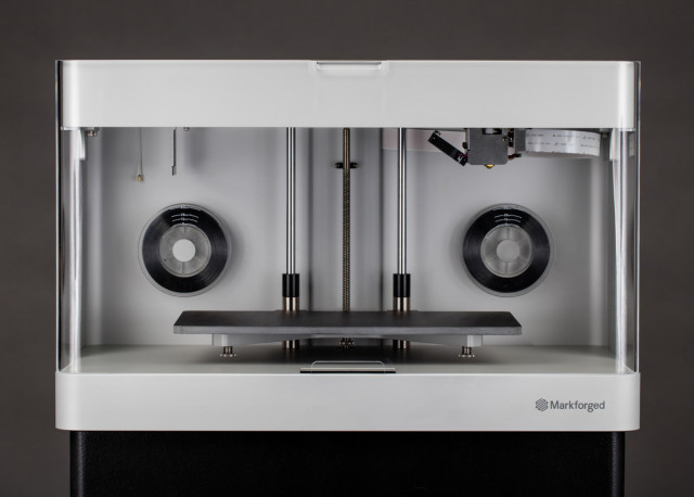 The Mark Two 3D printer from Markforged. (Image courtesy of Markforged.)