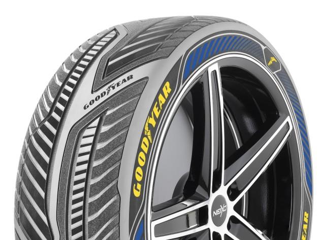 Goodyear's Intelligrip Concept Tire.