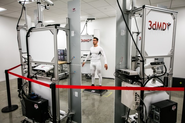 The UA Lighthouse will feature full-body 3D scanning from 3dMD. (Image courtesy of UA.)