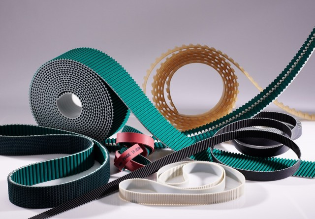 Precision timing belts. (Image courtesy of BeltCorp.)